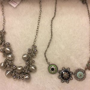 Two New Lia Sophia Necklaces